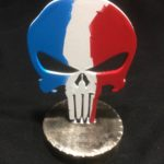 «French Punisher» , MT-Target,  sur socle