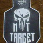 Patch PVC «MT-Target» Noir 80×50
