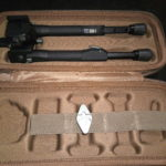 Bipied Tier One , Tactical Q/D, aluminium, picatiny , 180mm , Pan tilt