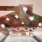 Cible réactive «TANK» , équipée de 8 formes différentes, tous calibres , BO.