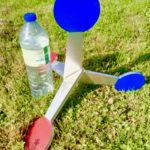 Gong «Kulbuto» Gros calibres ,arme d'épaule , diamètre 11cm, hauteur 40cm