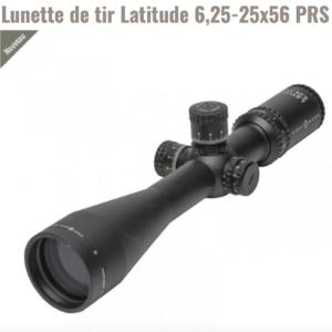 Lunette de tir «Sightmark Latitude» 6.25-25×56  PRS