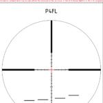 Lunette de tir Schmidt & Bender PM II , «High Power» 5-45×56 LP réticule P4LF, CW