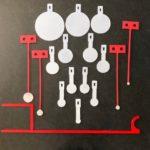 KIT Complet «NRL22Lr» , PRS22, 12 Targets + 12 Crochets blindés + 4 KYL